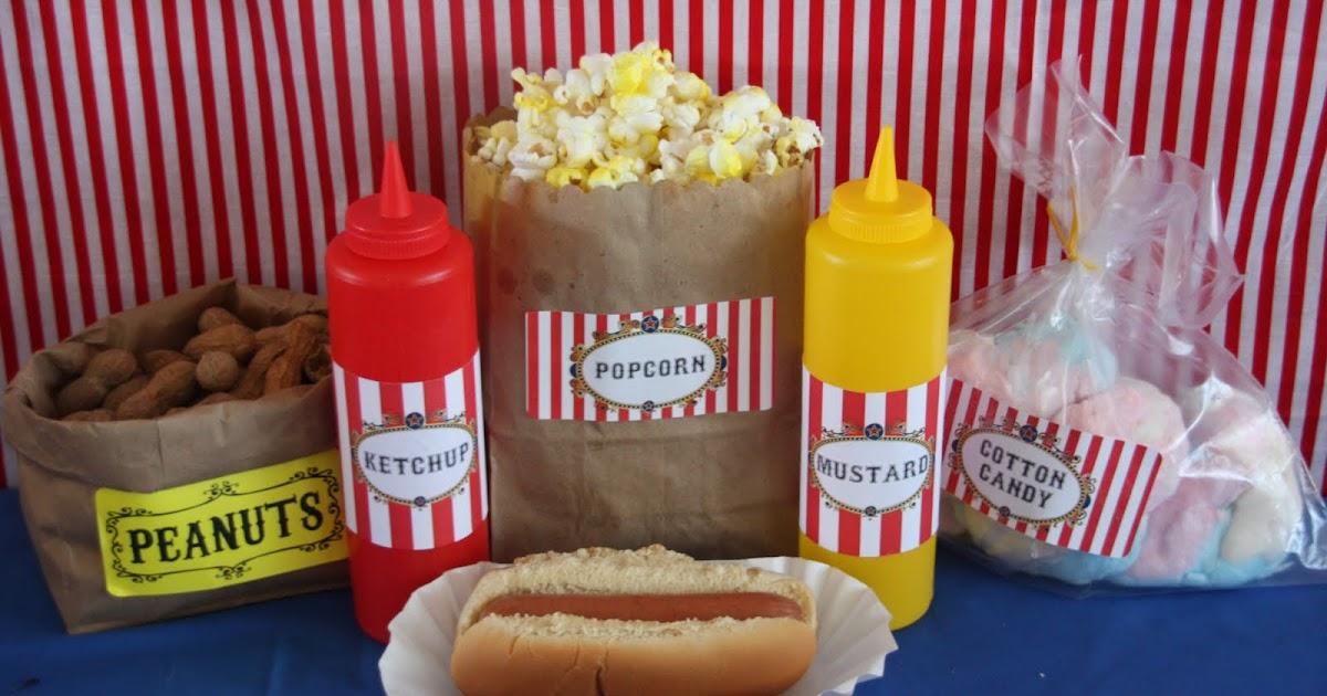 Night Of Mystery Popcorn Cotton Candy Peanuts