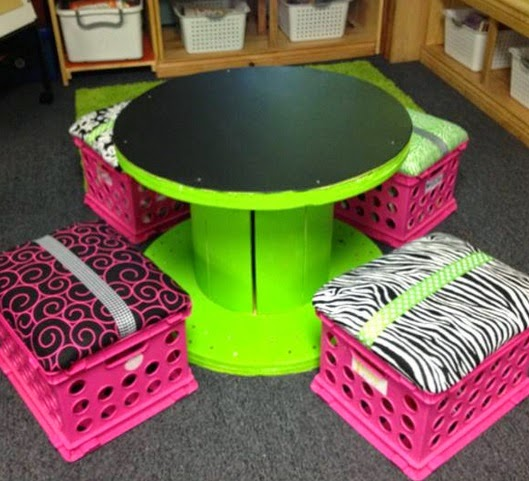 Muebles con Carretes Reciclados, Nuevas Ideas para Reciclar Madera