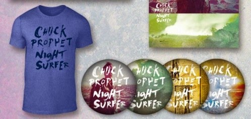CHUCK PROPHET - (2014) Night surfer t-shirt