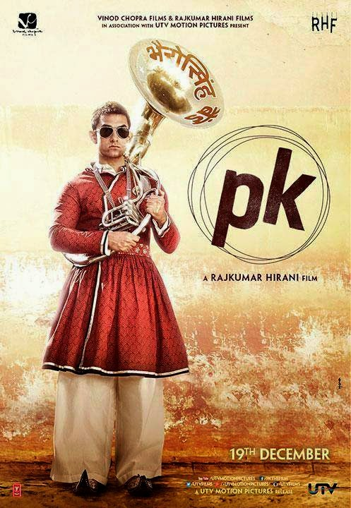 Presenting the 2nd poster of #PK starring #AamirKhan!