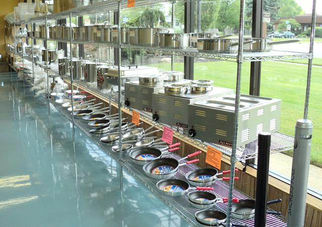 Burkett Restaurant Equipment & Supplies is a one-stop shop for all your commercial kitchen needs. Thousands of new and used items in stock online and in our Perrysburg, Ohio store. Whether your establishment is across town or across the country, Burkett's dedicated account reps can help you find what your kitchen needs for optimal operation.