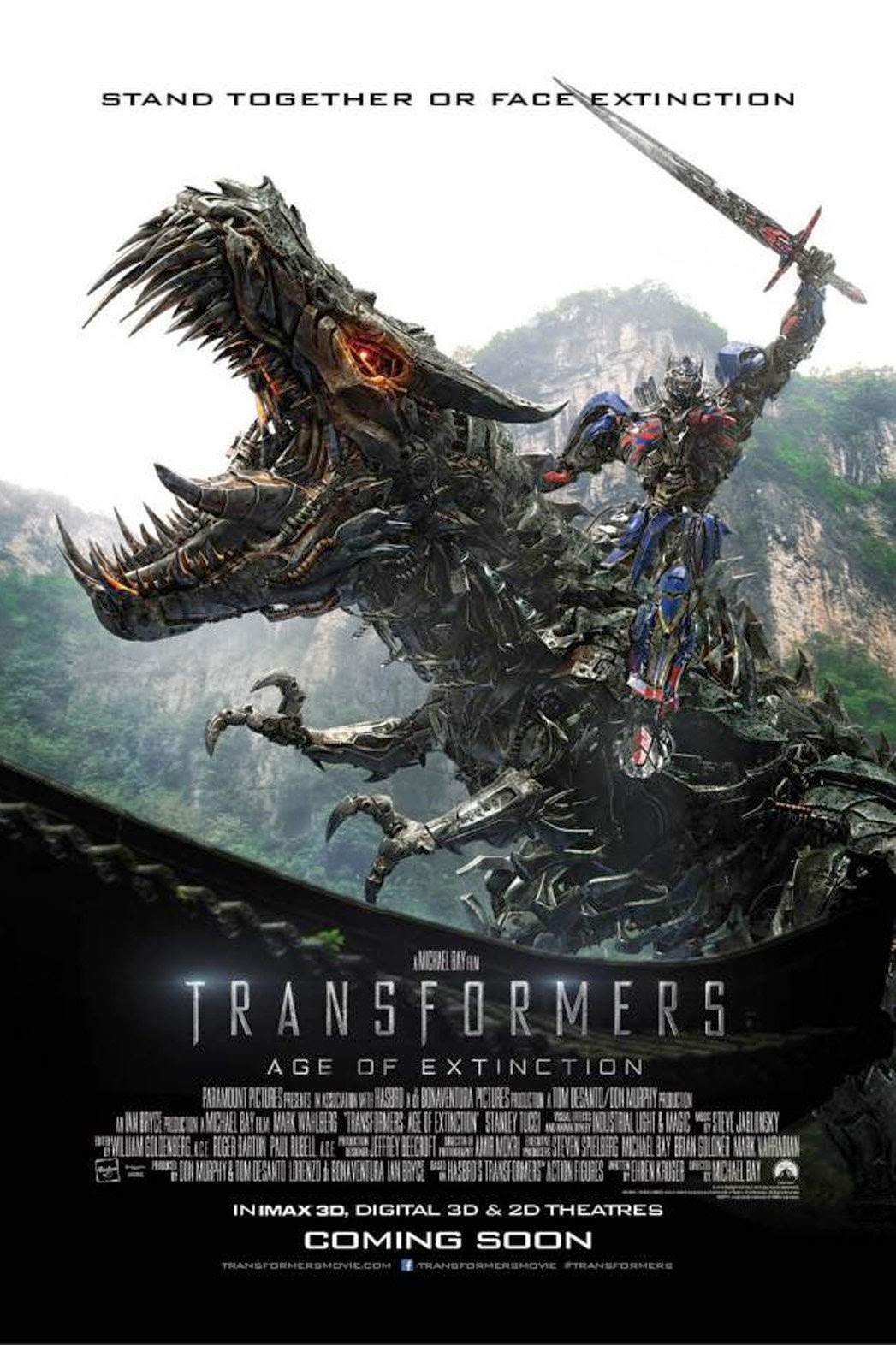 Transformers: Age of Extinction (2014) HDTS 720p + Subtitle Indonesia