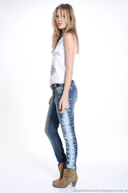 Riffle Jeans primavera verano 2014 pantalones.