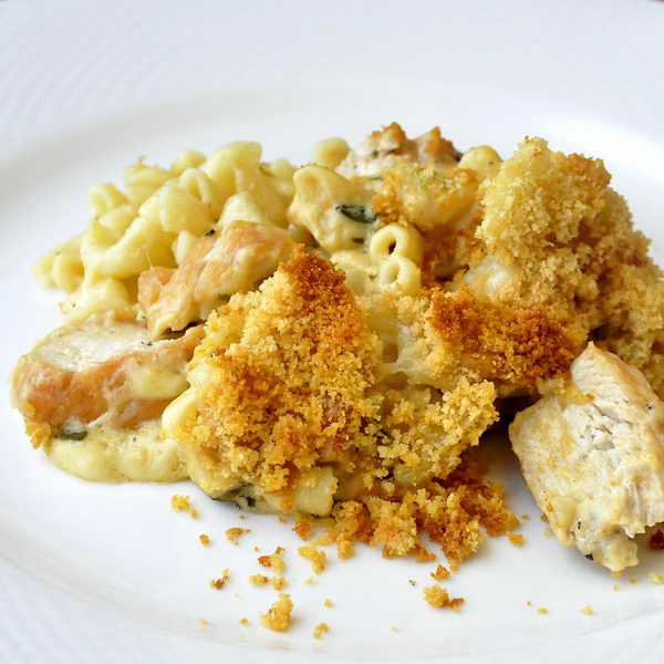 Tarragon Chicken Mac and Cheese