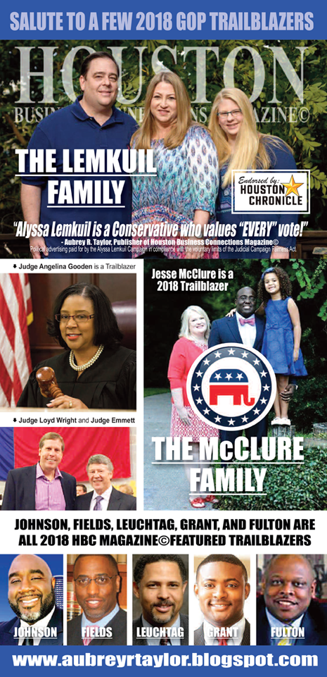 SALUTE TO 2018 GOP TRAILBLAZERS BROUGHT TO YOU HBC MAGAZINE©