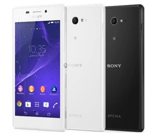 Nuovo smartphone android di fascia media resistente all'acqua con certificazione IP68: Xperia M2 Acqua di Sony