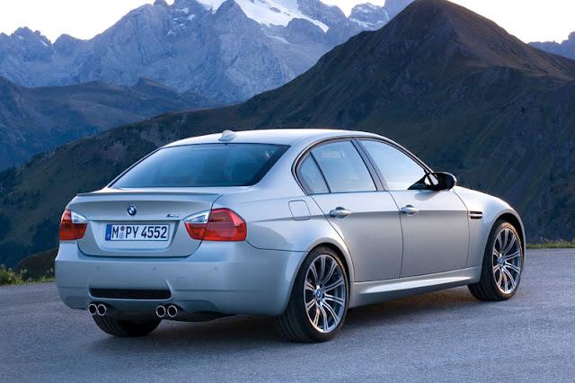 2008 BMW M3 Sedan Back Exterior