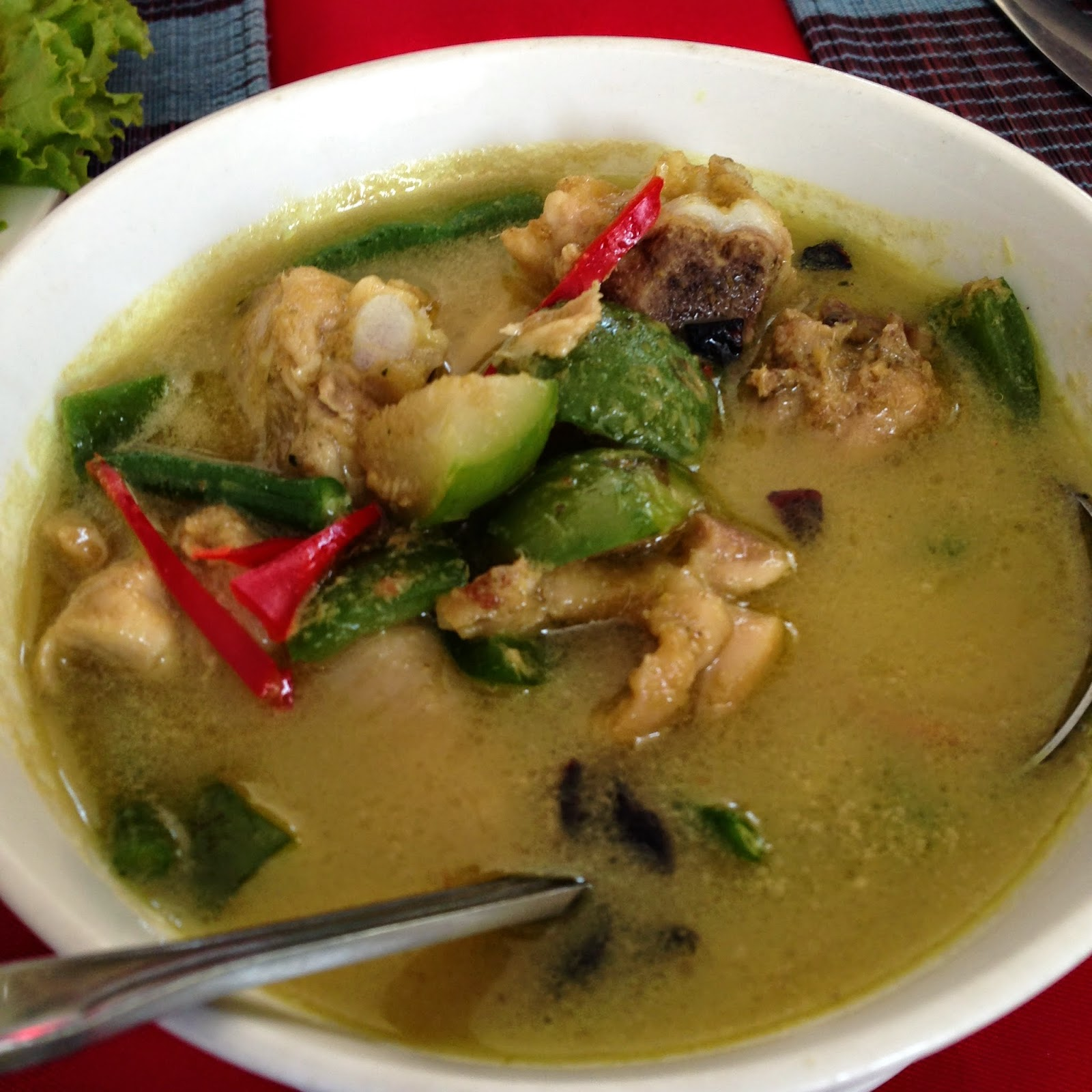 MyHibiscus Khmer Green Curry