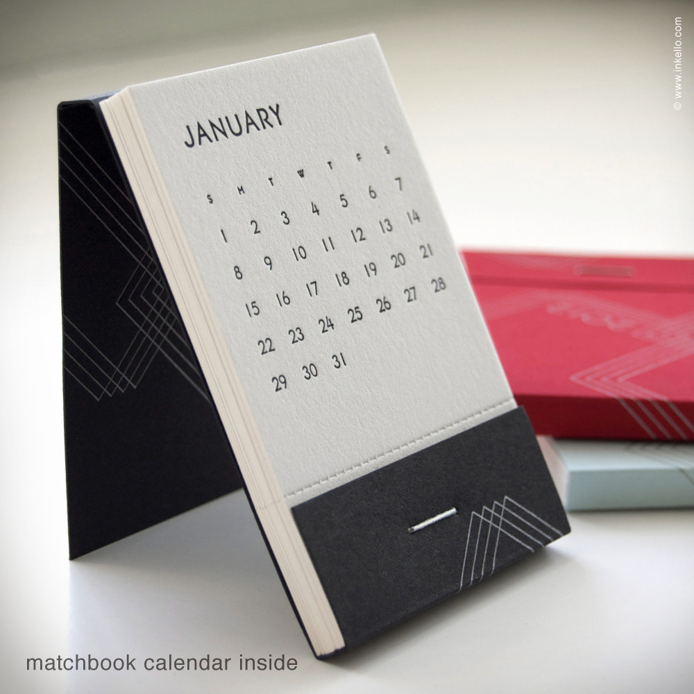 Unique Desk Calendar Ideas : The long swing january