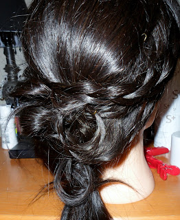 How to Make a Chignon Hairstyle   Bridal Updo with Braid