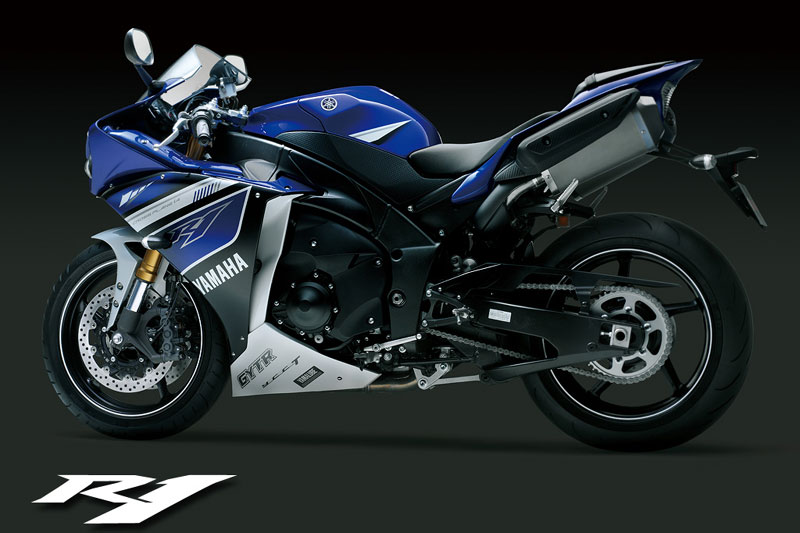 Yamaha YZF R1 2014 with MotoGP Graphic