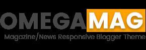 OmegaMag - Magazine/News Responsive Blogger Template