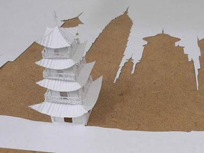 Koleksi Hasil Origami [Seni Melipat Kertas] Mengagumkan karya Peter Callesen