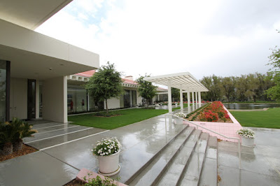 Rainy day at Sunnylands