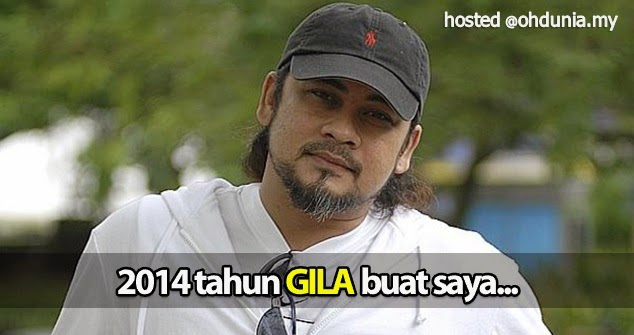 Ujian sepanjang tahun 2014 memang 'GILA' buat saya - Awie Wings