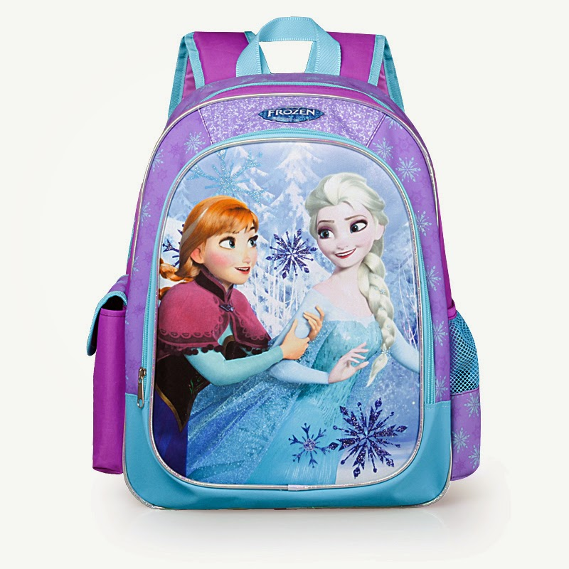Gambar tas ransel disney elsa frozen untuk anak