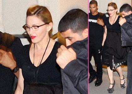 Madonna: Snazzy Heel-less Heels in Vienna » Gossip   Madonna