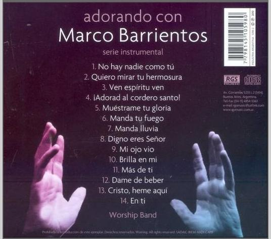 Worship Band Adorando Con Marco Barrientos