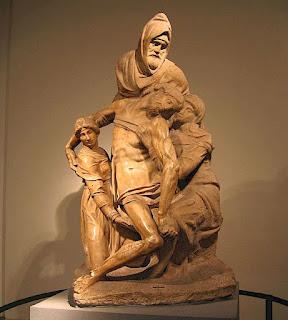 Pietà dell'Opera del Duomo, Michelangelo, Firenze, Italy