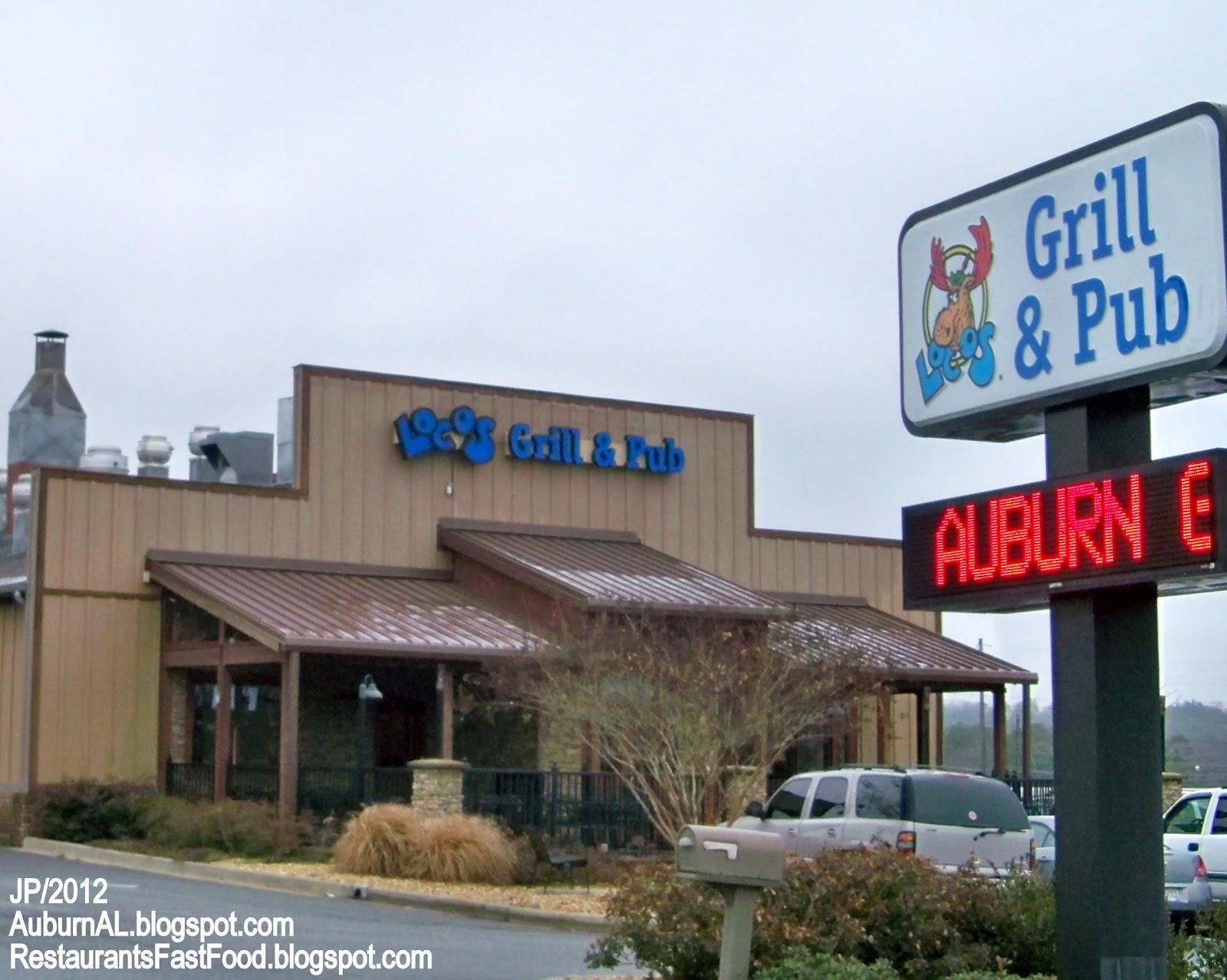 Alabama lee county salem - Loco S Grill Auburn Alabama S College St Locos Grill Pub Restaurant Auburn Al Lee County 1120 S College St Auburn Al 36832