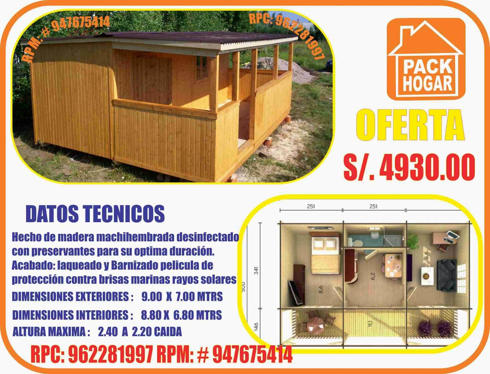 Casas prefabricadas casetas m dulos precios for Casas prefabricadas para jardin