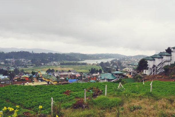 View of Nuwara Eliya