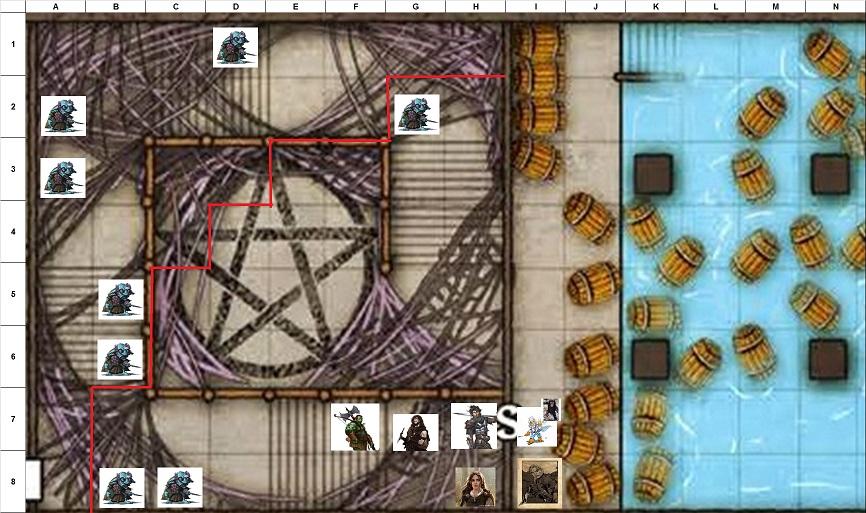 Combat Map - Turn 45