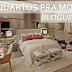 Decoração de quartos para moças/blogueiras - veja modelos lindos e modernos!
