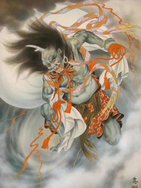 Portal dos Mitos: Fujin & Raijin