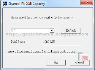 Skymedi Fix Software Free 1 And 2 GB Flash USB Memory