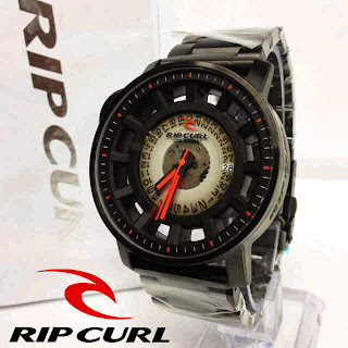 Jam Tangan Ripcurl Axis Midnight red