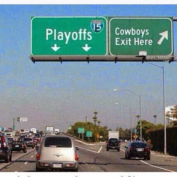 Playoffs - Cowboys Exit here