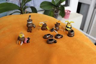 насекомые из пластики
