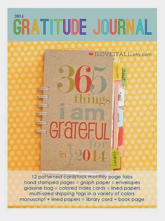 #gratitude #journal #gratitudejournal #365 Things I Am Grateful For #journal #iloveitall