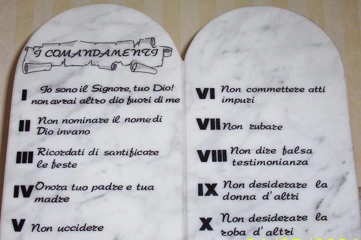 i 10 comandamenti spaccanapoli bologna - photo#4