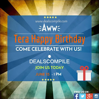 DealsCompile - Birthday Celebration with Free Amazon Voucher , Movie Tickets and Recharge Vouchers