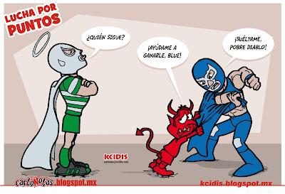 santos vs demosnios, por kcidis