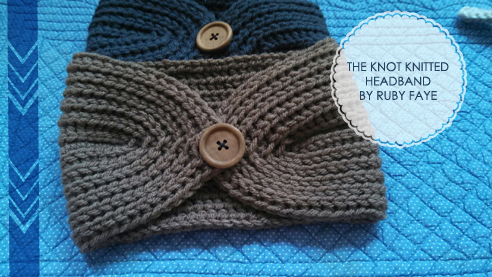 Cotton Fables Free Patterntutorial Knot Knitted Headband