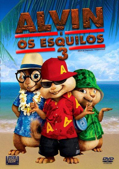 Alvin e os Esquilos 3 Legendado