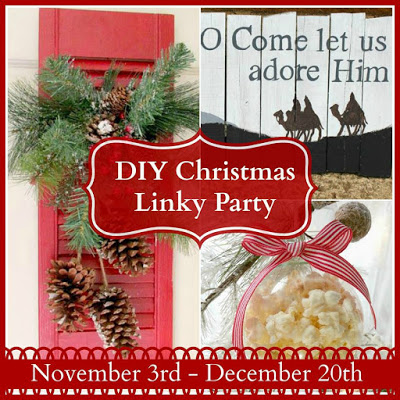 DIY Christmas Linky Party
