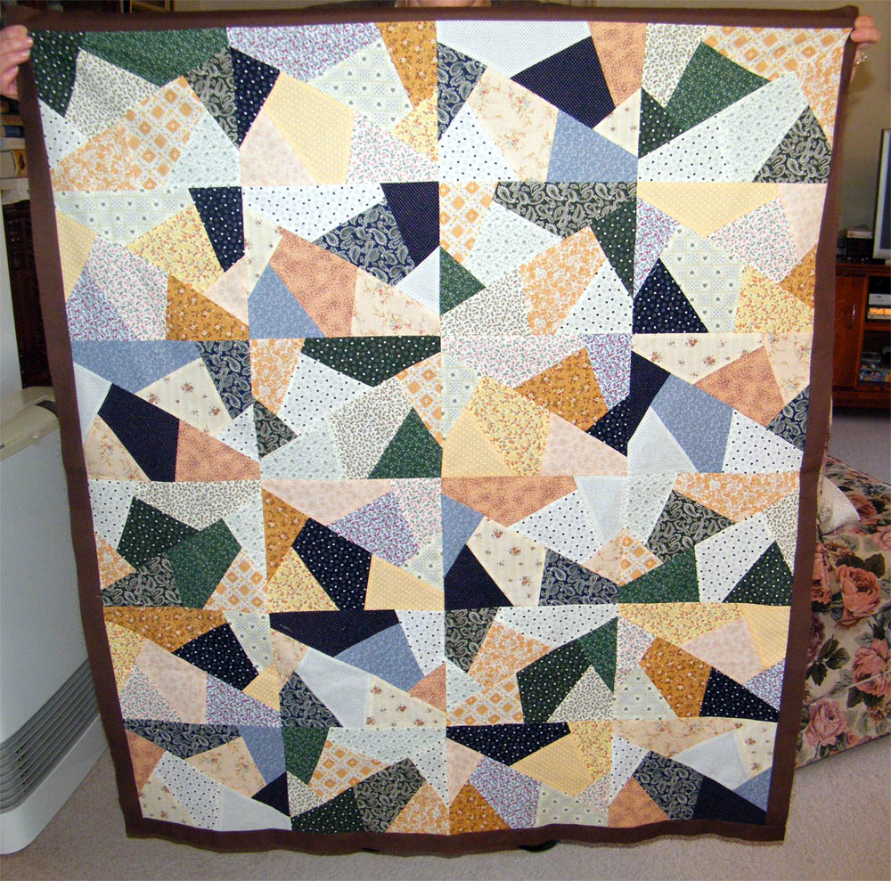 Rambling around my Life: Two Stack n Slash quilts : stack and slash quilt - Adamdwight.com