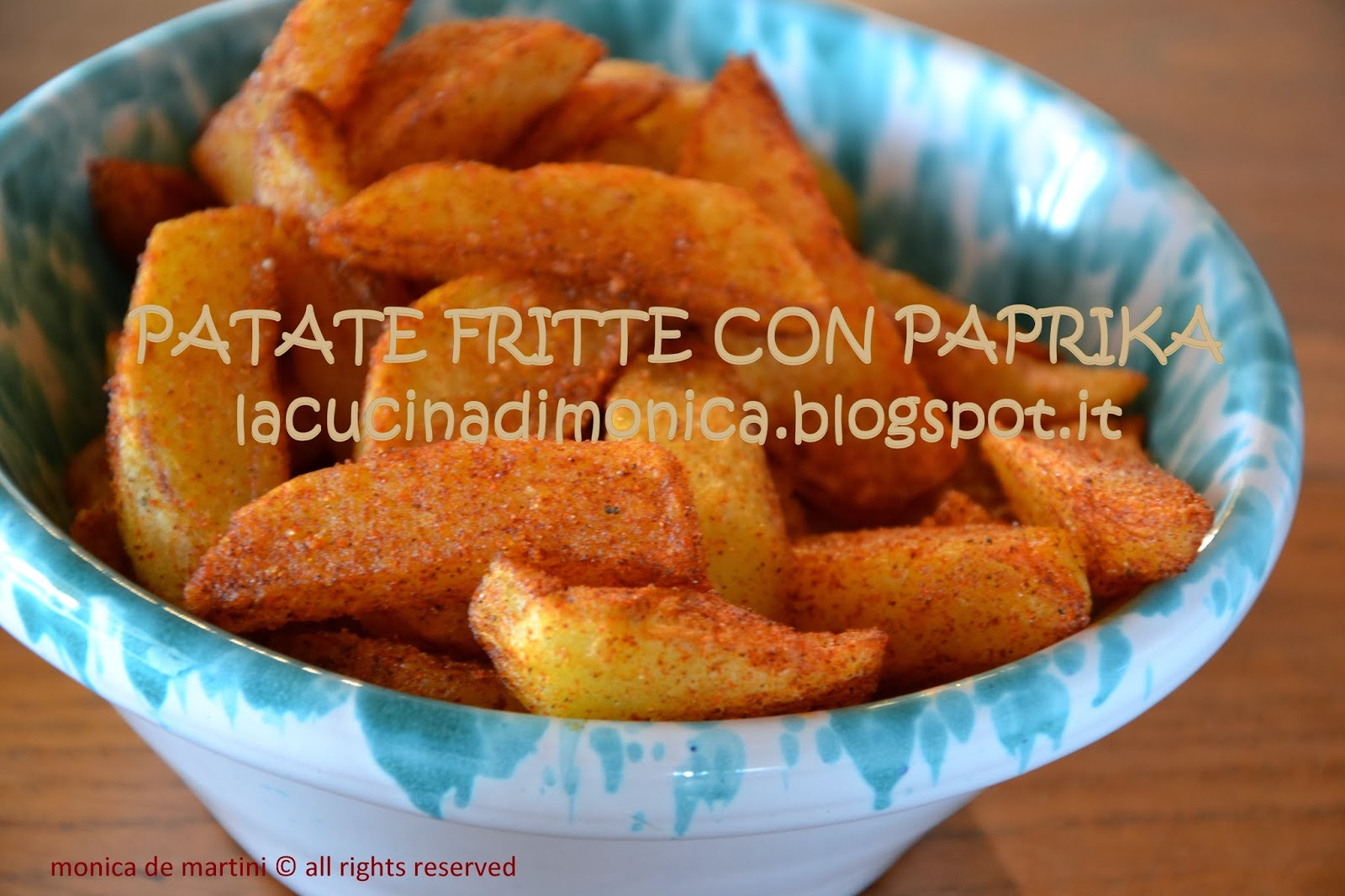 patate fritte con paprika