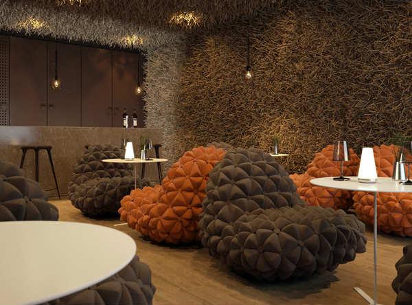 Birds Nest Style Twister Restaurant