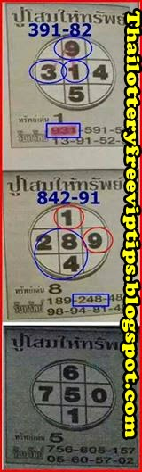 Thai Lottery direct and full game 01-09-2014
