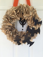 http://www.marymarthamama.com/crafty-cat/diy-bat-book-page-wreath/