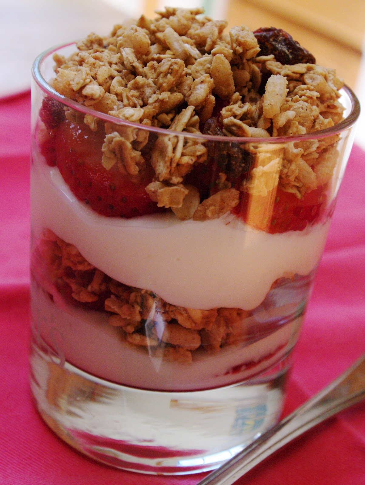 yogurt fruit granola parfait ingredients yields 2 small parfaits 1