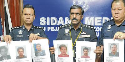 suspek dikehendaki polis