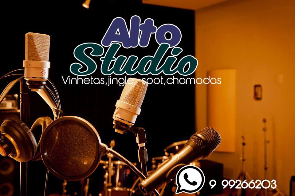 Novo Studio de gravações