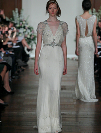 Castle manor great gatsby inspired bridal fashion ideas for The great gatsby wedding dresses