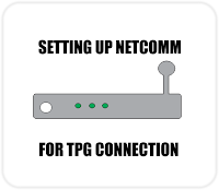 Setting up Netcomm Modem
